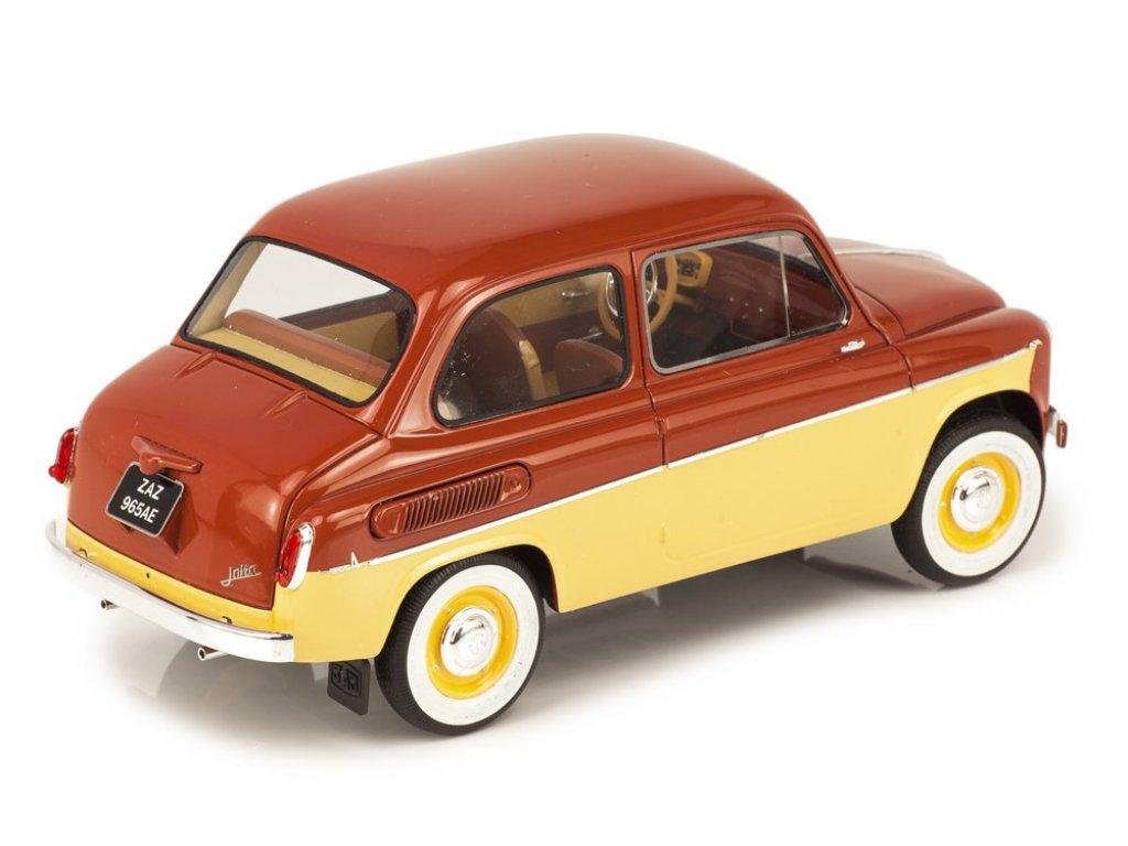 1:18 Premium Scale Models ЗАЗ 965АЕ Ялта 1965-1969 коричневый с желтым