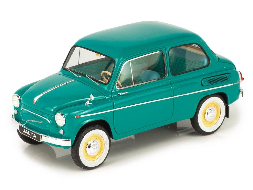 1:18 Premium Scale Models ЗАЗ 965АЕ Ялта 1965-1969 бирюзовый