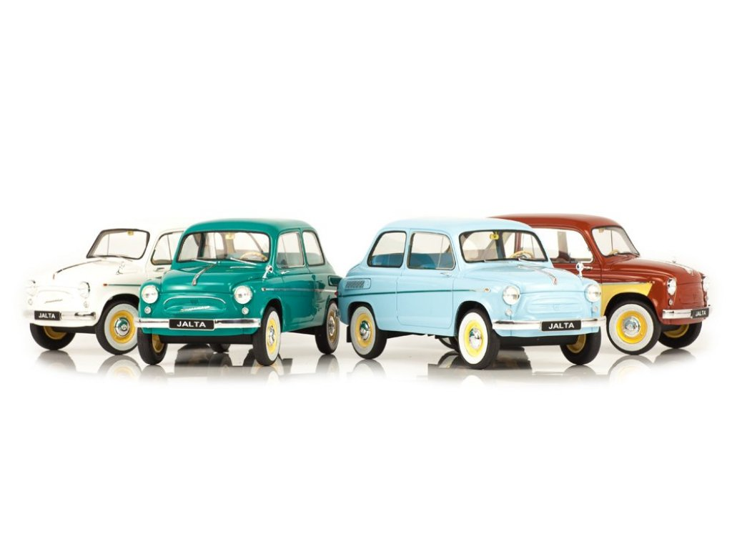 1:18 Premium Scale Models ЗАЗ 965АЕ Ялта 1965-1969 голубой
