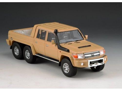 1:43 GLM Toyota Landcruiser FJ79 MDT Southern Scorpion 6X6 2014 бежевый