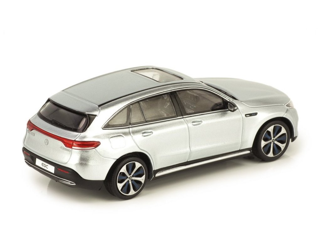 1:43 Spark Mercedes-Benz EQC 400 4MATIC (N293) серебристый