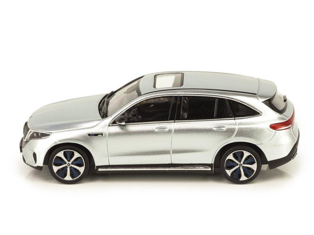 1:43 Spark Mercedes-Benz EQC 400 4MATIC (N293) серебристый