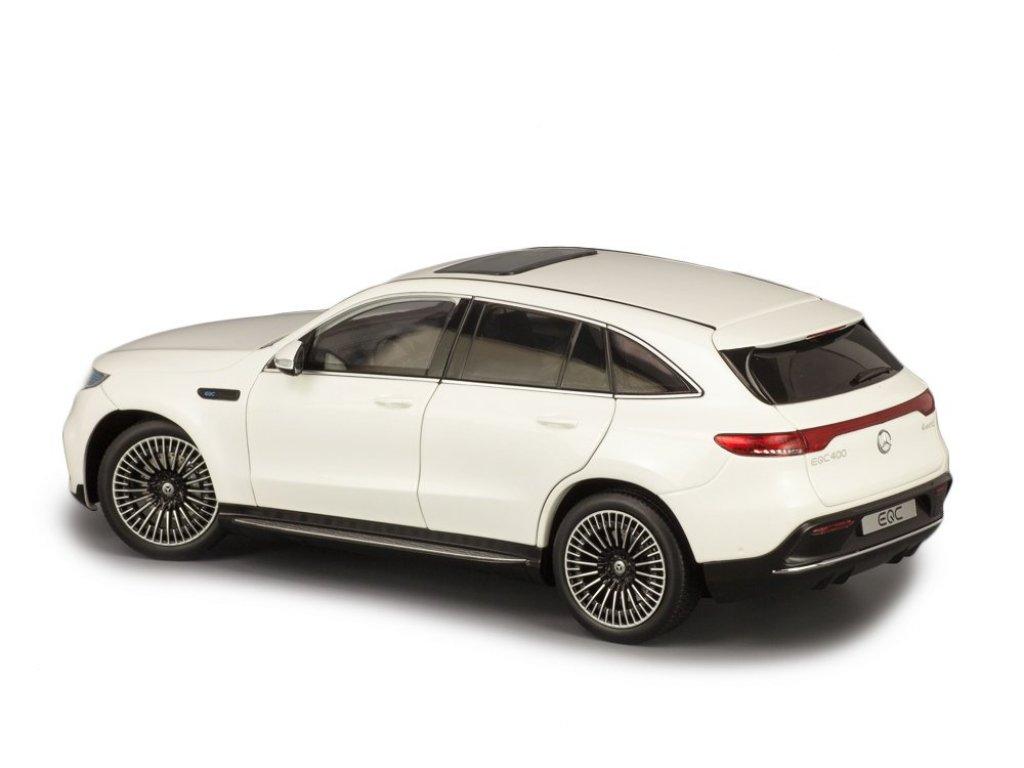 1:18 NZG Mercedes-Benz EQC 400 4MATIC (N293) белый