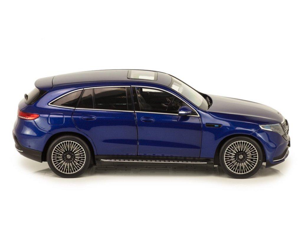 1:18 NZG Mercedes-Benz EQC 400 4MATIC (N293) синий металлик