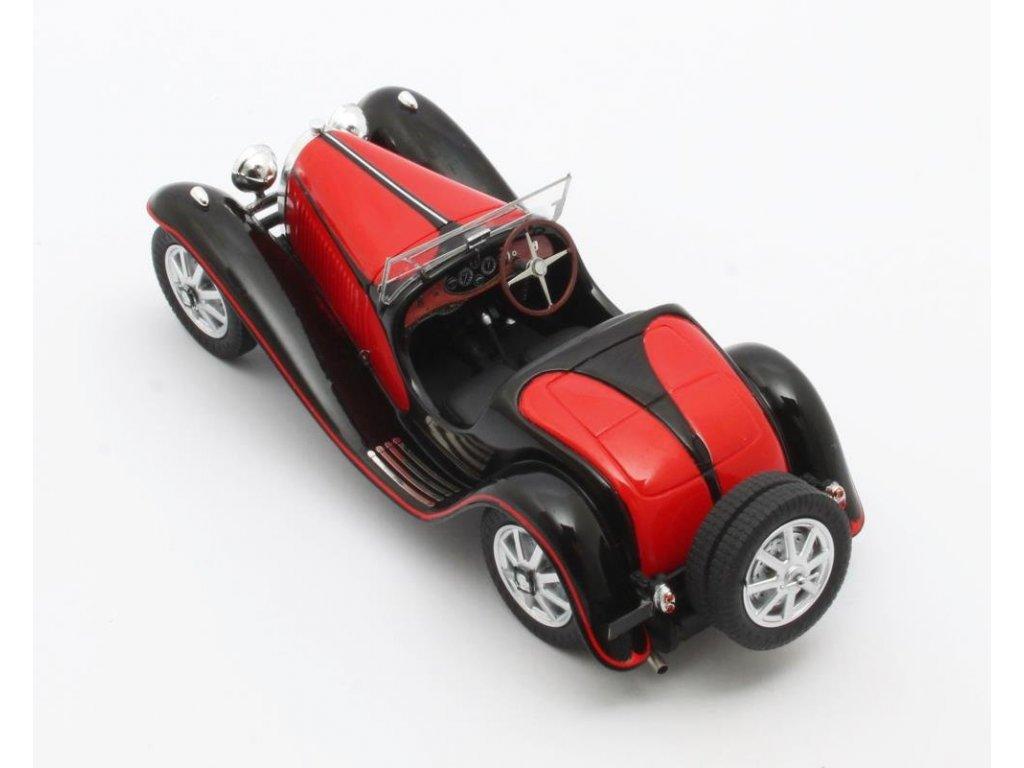 1:43 Matrix Bugatti Type 55 Roadster 1932 красный с черным