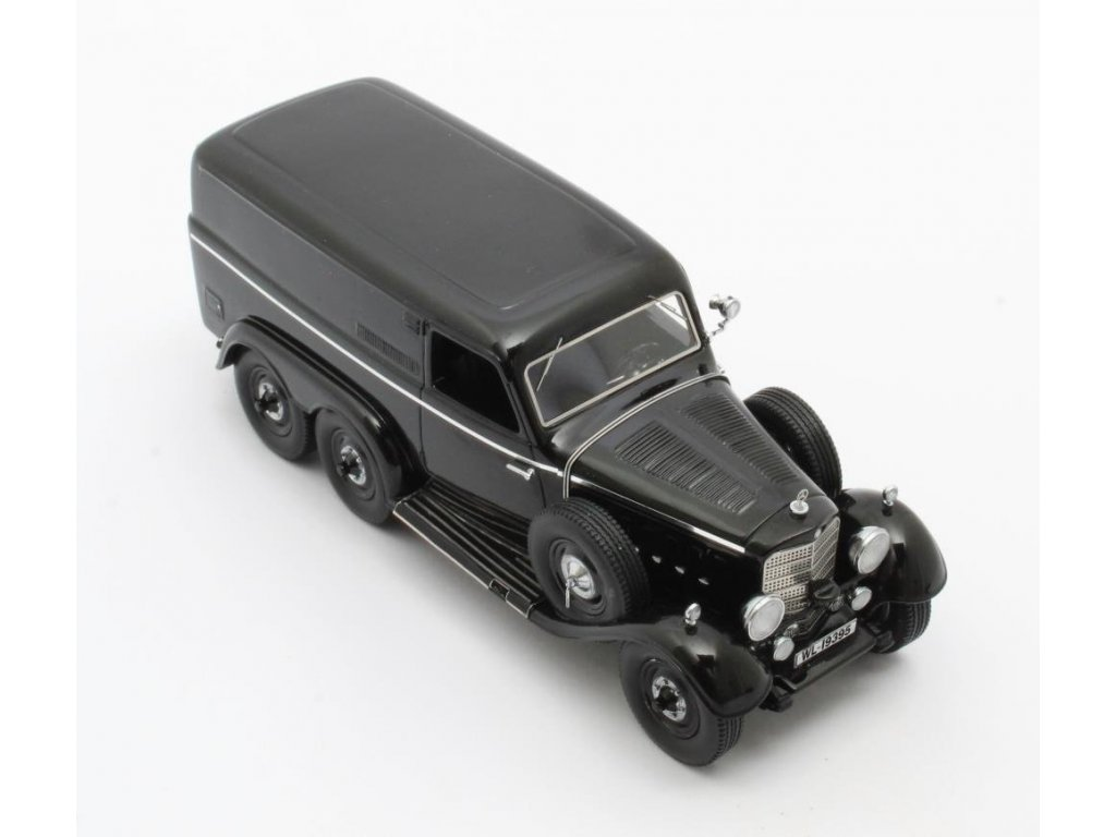 1:43 Matrix Mercedes-Benz G4 W31 Kastenwagen 1939 черный