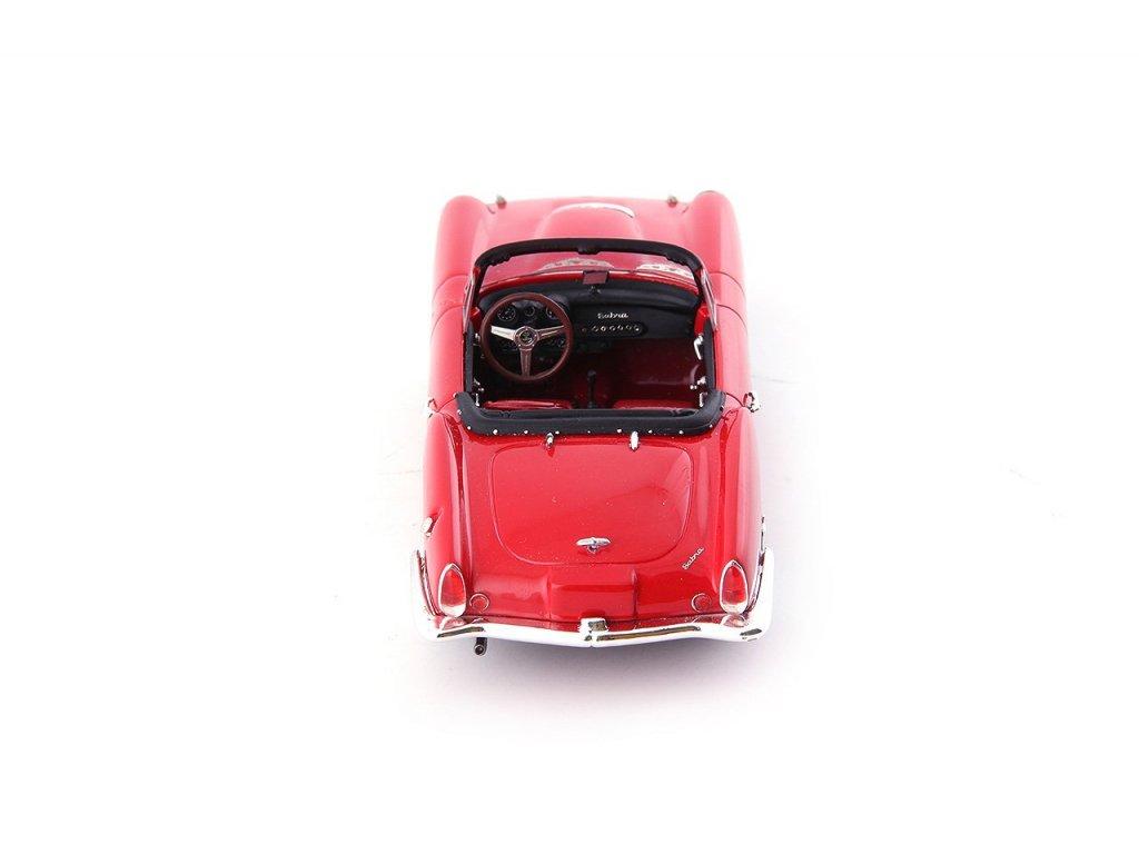 1:43 AutoCult Sabra Sport Roadster Israel 1963 красный