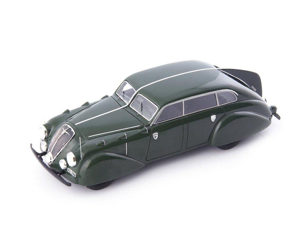 1:43 AutoCult Adler Diplomat Stromlinie Autenrieth Germany 1938 зеленый