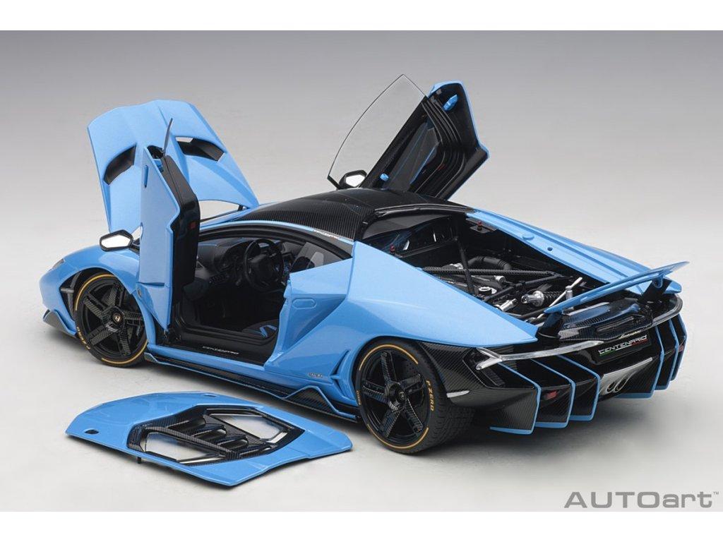 1:18 AUTOart Lamborghini Centenario LP770-4 2017 голубой