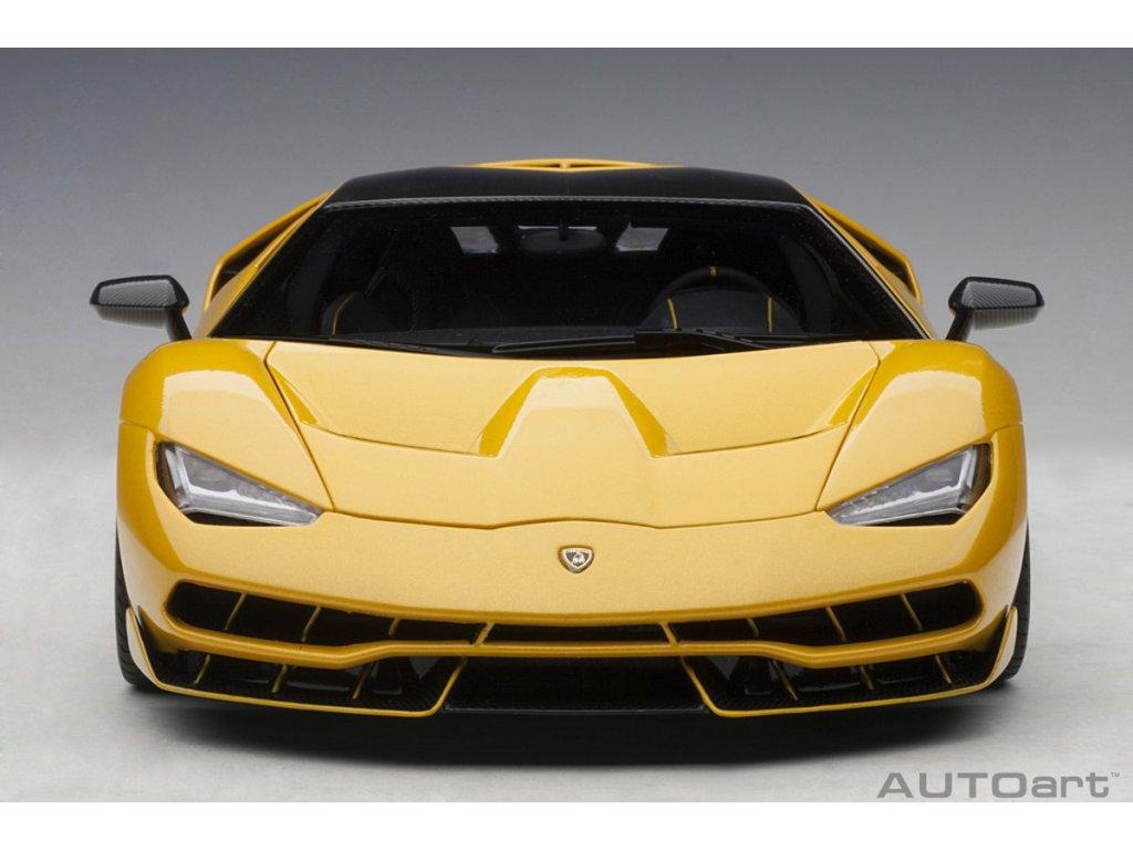 1:18 AUTOart Lamborghini Centenario LP770-4 2017 желтый