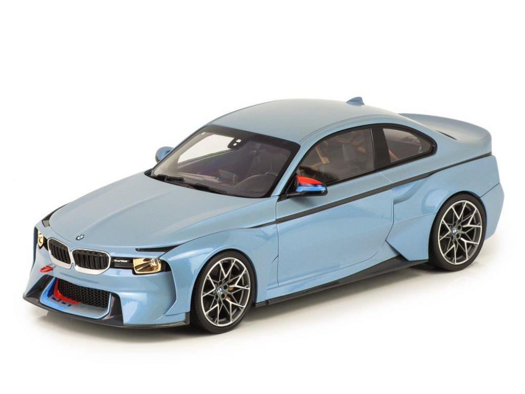1:18 Norev BMW 2002 Hommage Collection голубой металлик