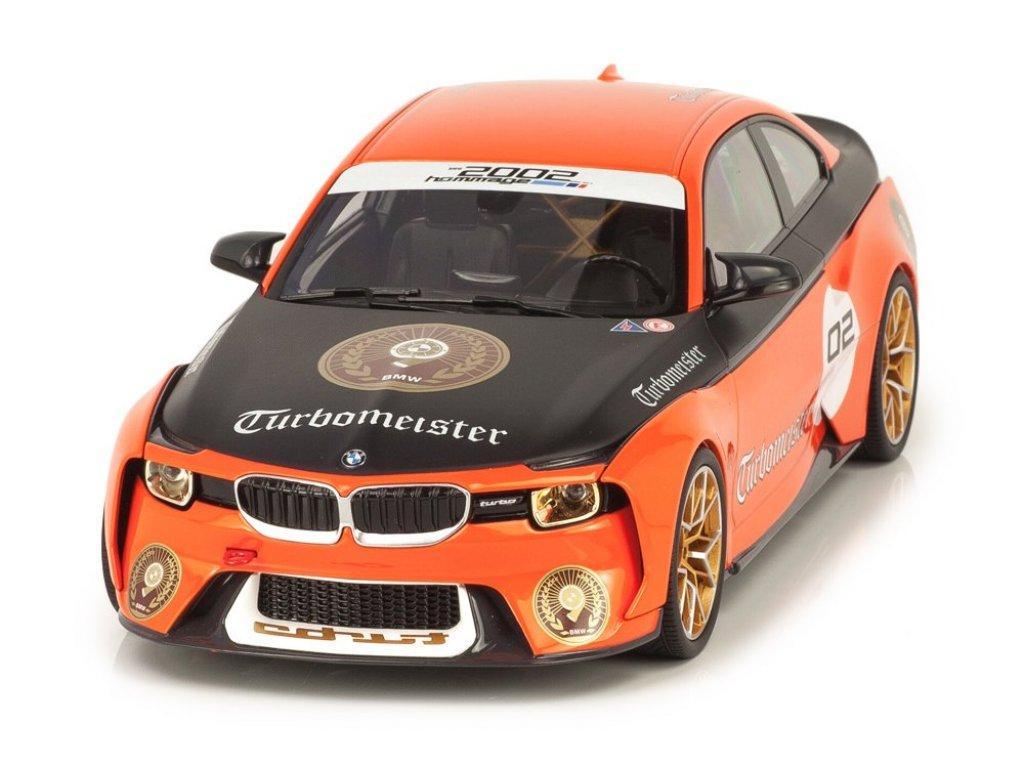 1:18 Norev BMW 2002 Hommage Collection Turbomeister оранжевый с черным