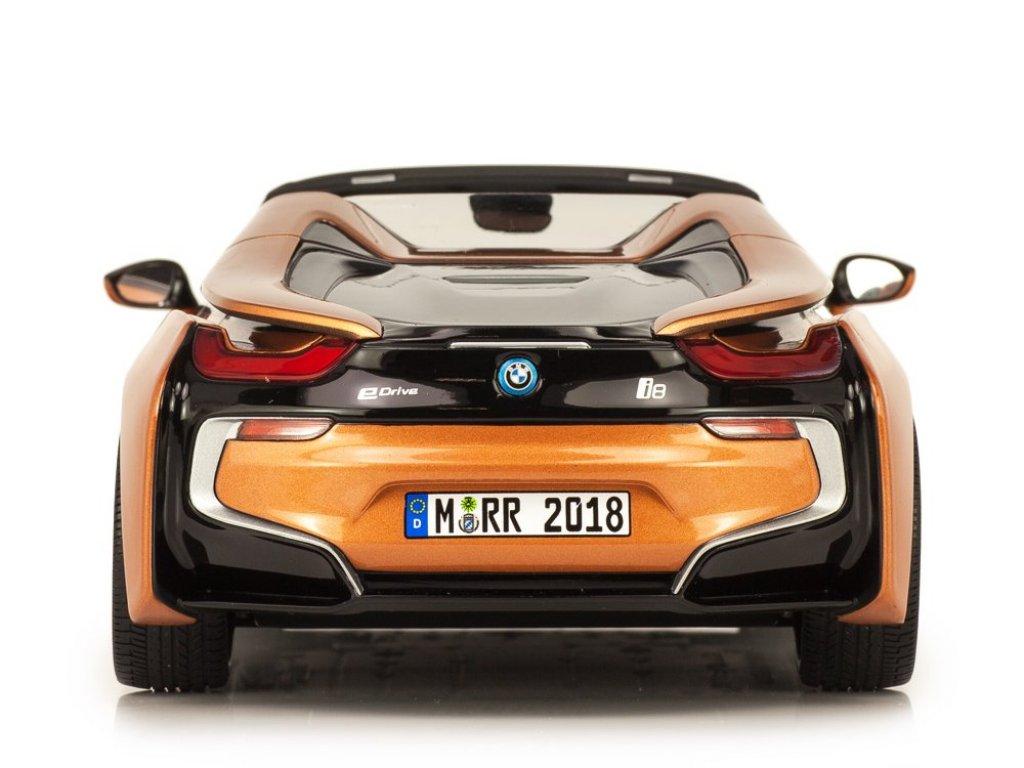 1:18 Minichamps BMW i8 Roadster 2018 медный металлик