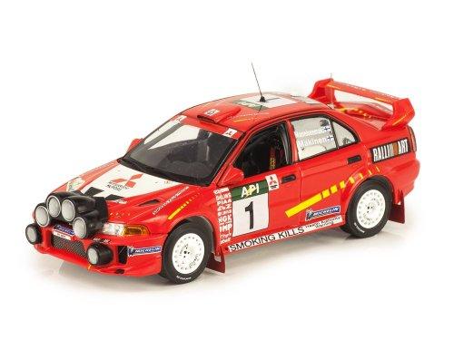 1:43 IXO Mitsubishi Lancer Evo V #1 победитель Rally Australia 1998 Makinen/Mannisenmaki
