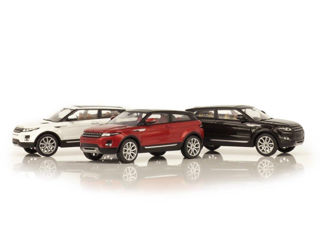 1:43 IXO Range Rover Evoque 3-дверный белый