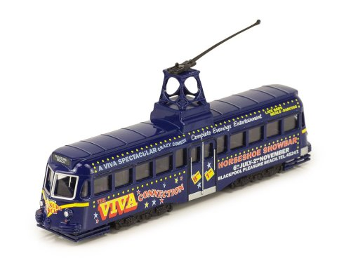 1:72 Atlas трамвай Brush Railcoach Tram 1937 синий