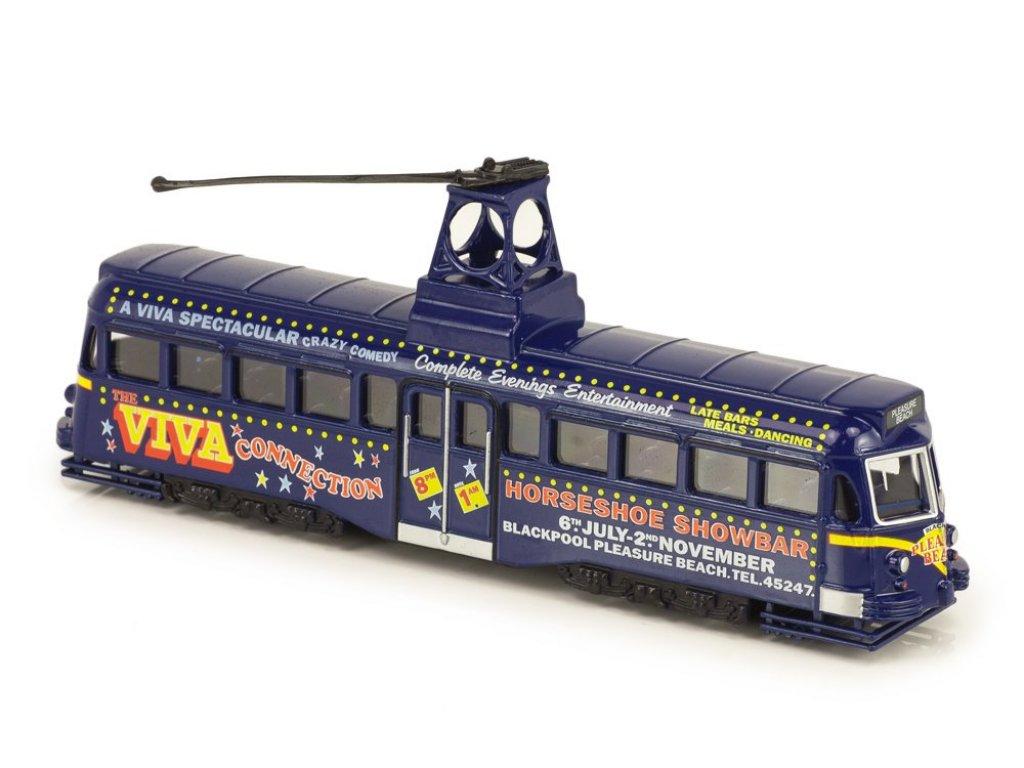 1:72 Atlas трамвай Brush Railcoach Tram 1937 синий