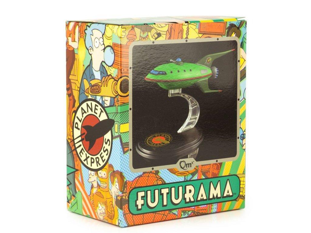 Futurama Futurama Planet Express Ship Model Q-Fig From Quantum Mechanix Плэнет Экспресс из Футурама (14 см в длину)