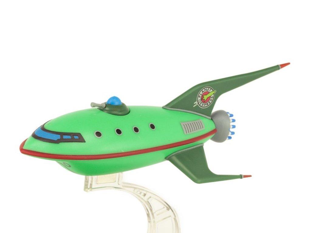 Futurama Futurama Planet Express Ship Model Q-Fig From Quantum Mechanix Плэнет Экспресс из Футурамы (14 см в длину)