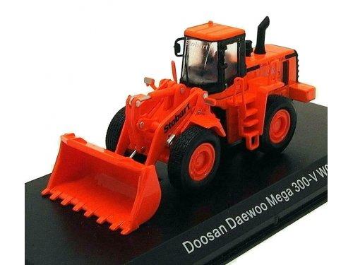 1:76 Atlas Doosan Daewoo Mega 300-V WO54 Stobart оранжевый