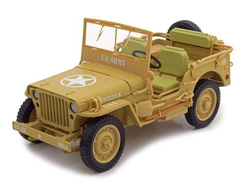 1:18 Triple9 Jeep Willys 1943 Casablanca песочный