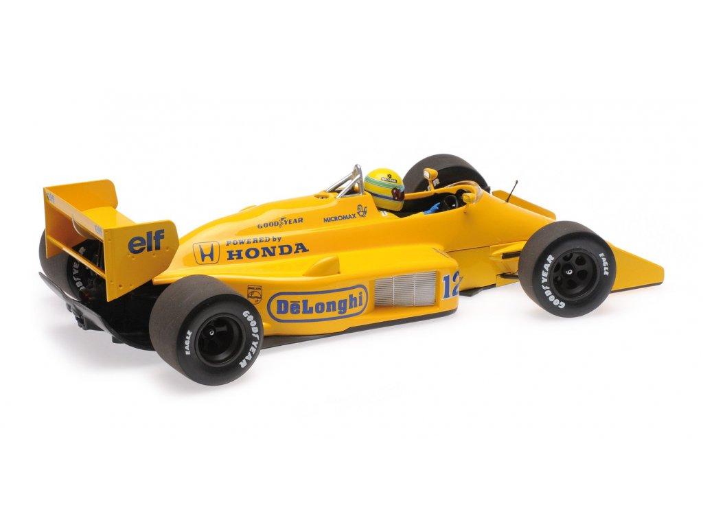 1:18 Minichamps Lotus Honda 99T Ayrton Senna Победитель Monaco GP 1987