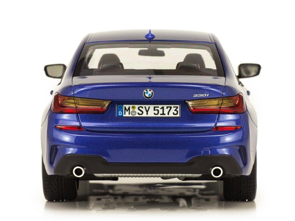 1:18 Norev BMW 3-series 2018 G20 синий металлик