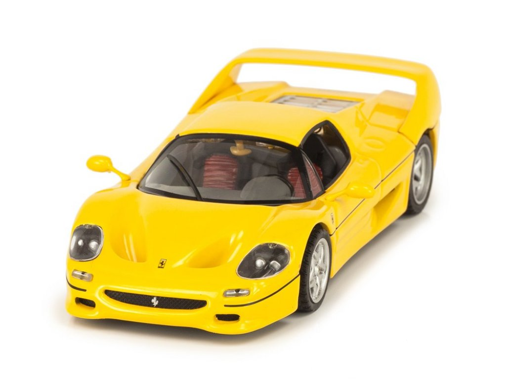 1:43 Altaya Ferrari F50 желтый