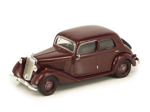 1:43 Altaya Mercedes-Benz 170 V (W136) 1949 бордовый