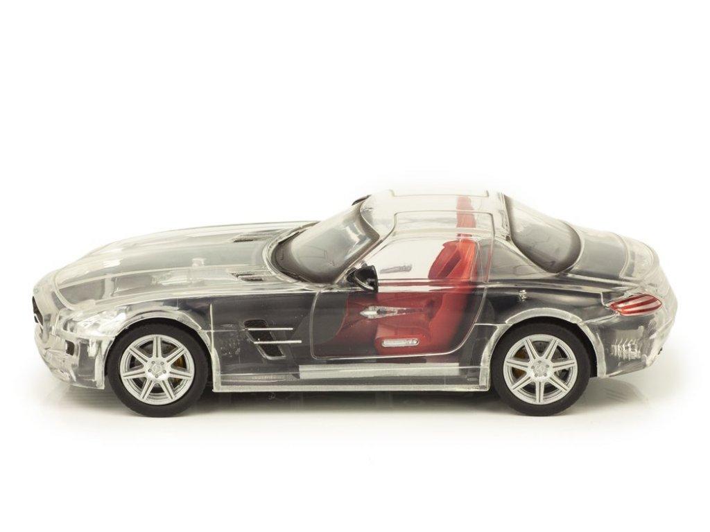 1:43 Atlas Mercedes-Benz SLS AMG 2010 С197 с прозрачным корпусом