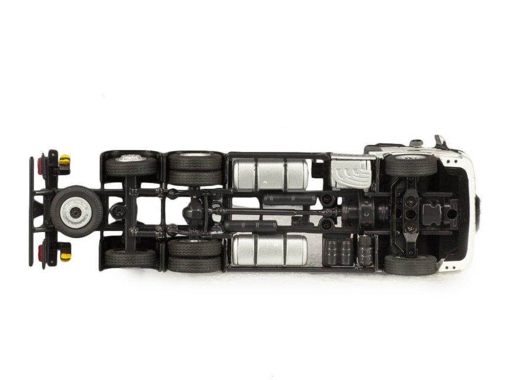 1:50 NZG Mercedes-Benz Actros FH25 bigSpace 6x4 2015 с контейнером, белый