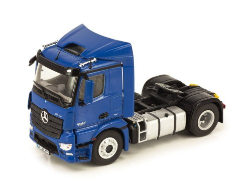1:50 NZG Mercedes-Benz Antos 4x2 SZM 2015 седельный тягач синий металлик