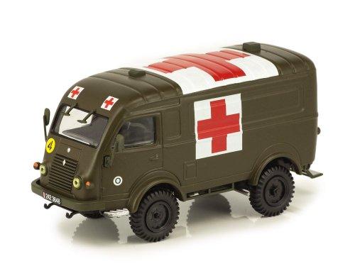 1:43 Altaya Renault R 2087 Ambulance 1950 полевая скорая помощь