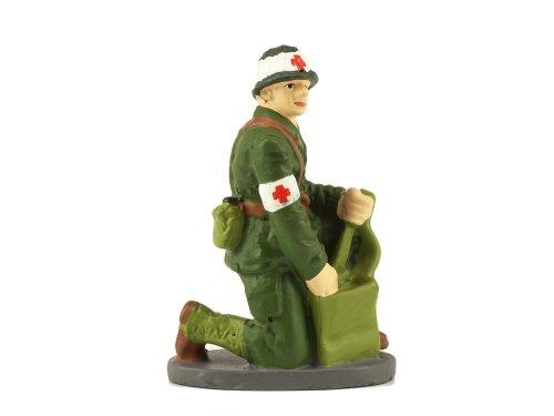 1:43 Altaya 1 Француский военный санитар с медицинской сумкой