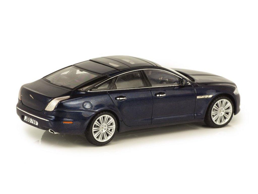 1:43 PremiumX Jaguar XJ 2011 темно-синий металлик