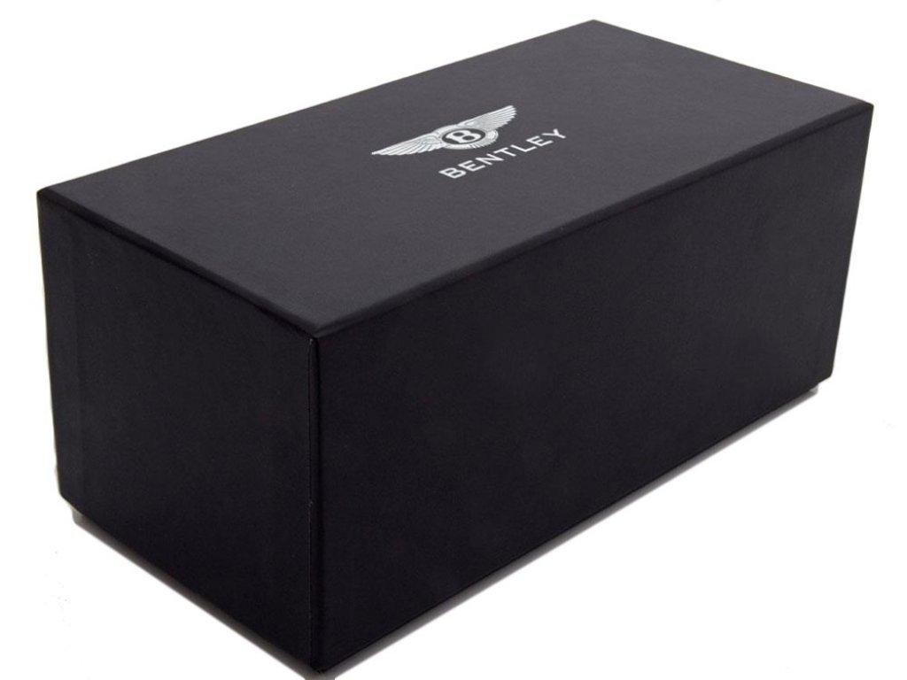 1:43 Kyosho Bentley Mulsanne 2014 коричневый металлик