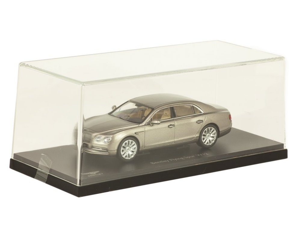 1:43 Kyosho Bentley Flying Spur W12 серебристый перламутр
