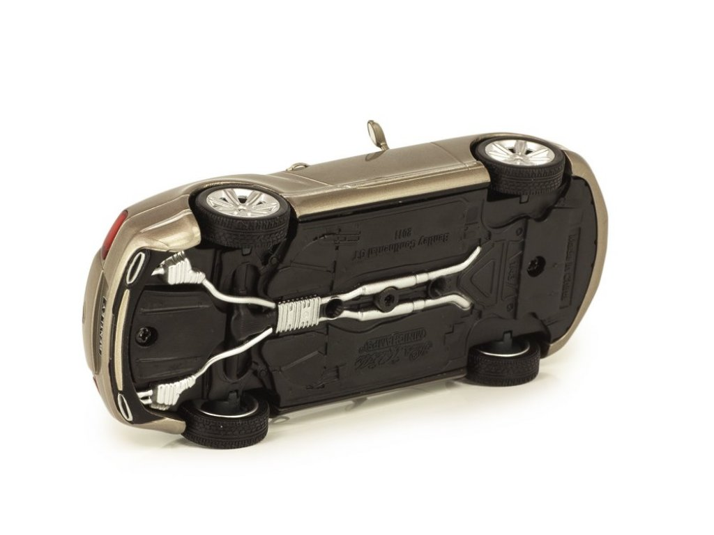 1:43 Minichamps Bentley Continental GT серебристый перламутр
