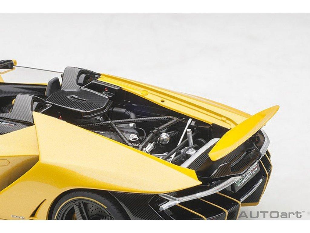 1:18 AUTOart Lamborghini Centenario Roadster желтый