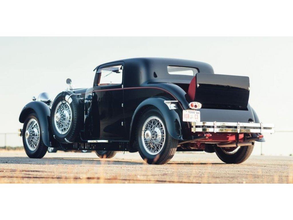 1:43 Matrix Stutz Model M Supercharged Lancefield Coupe открытый 1930 черный