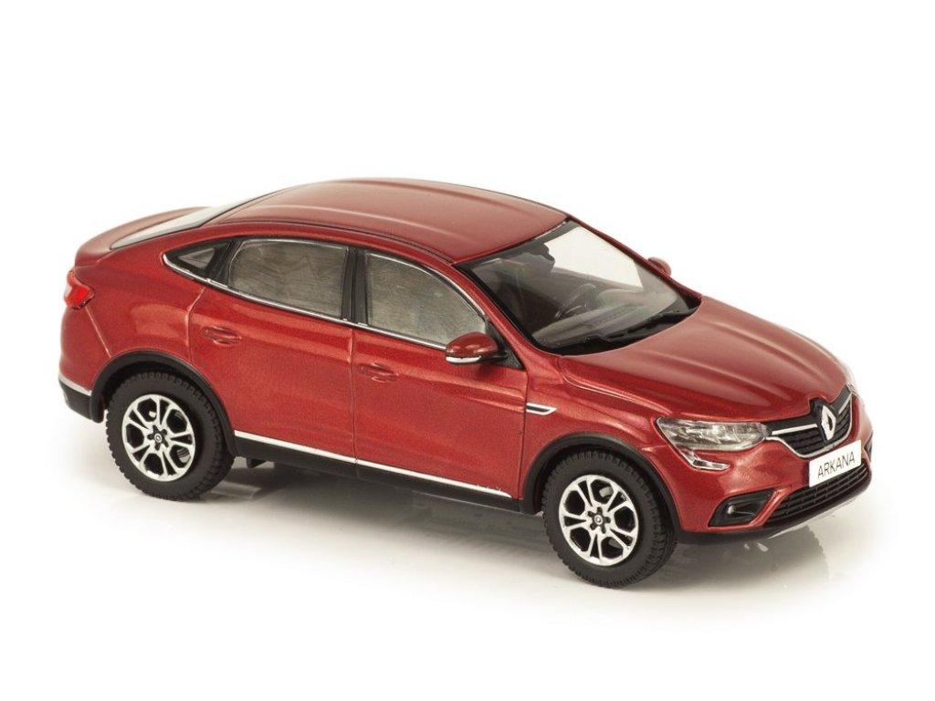 1:43 IXO Renault Arkana 2019 красный металлик