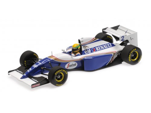 1:18 Minichamps Williams Renault FW16 Ayrton Senna Pacific GP 1994