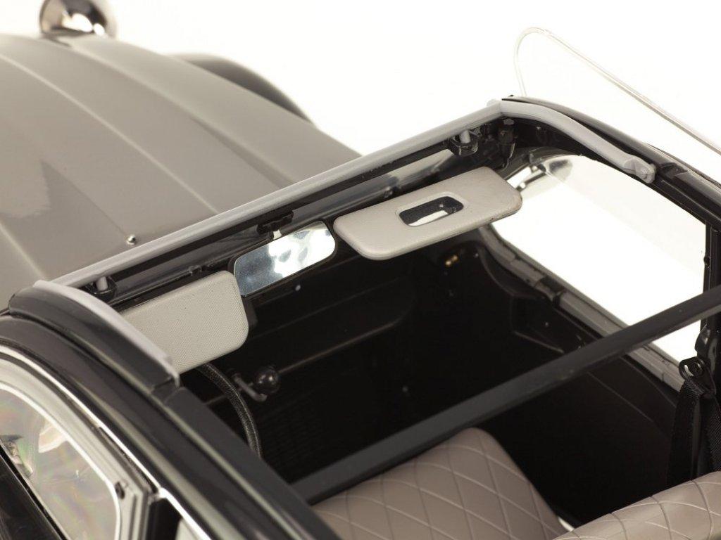 1:8 PremiumX Citroen 2CV Charleston серый с черным