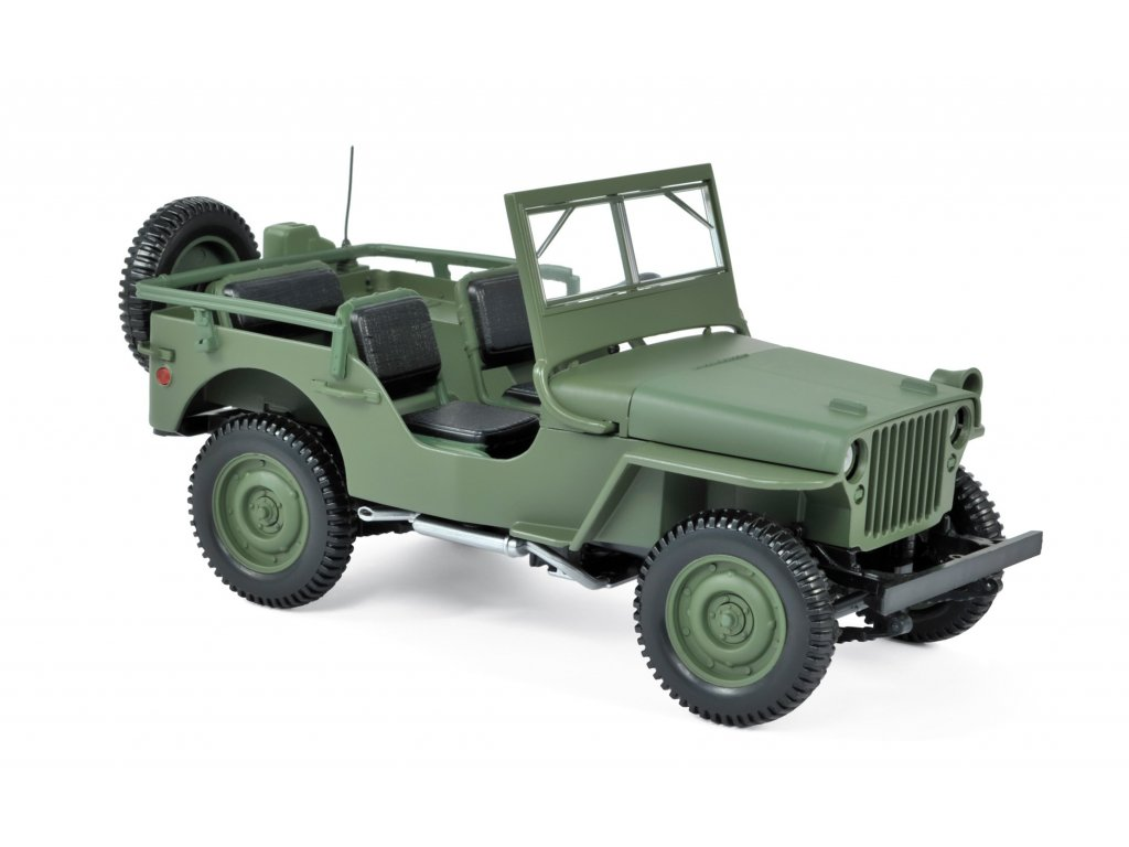 1:18 Norev Jeep Willys 1942 оливковый