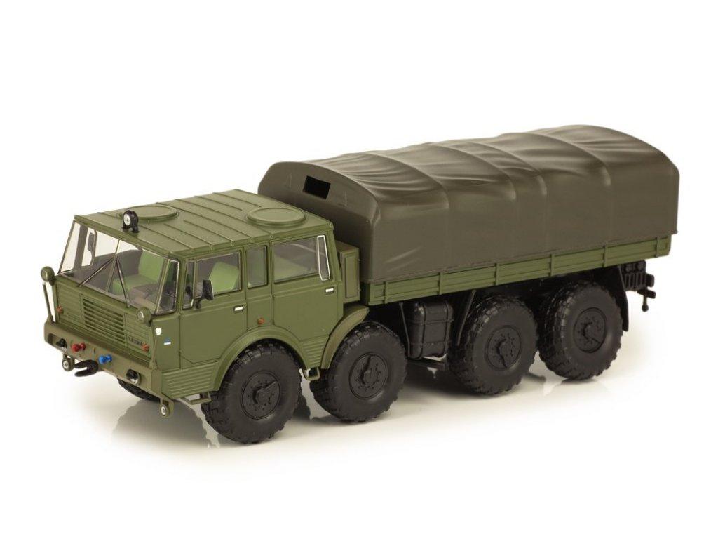 1:43 IXO Tatra 813 8X8 Kolos 1968 матовый оливковый