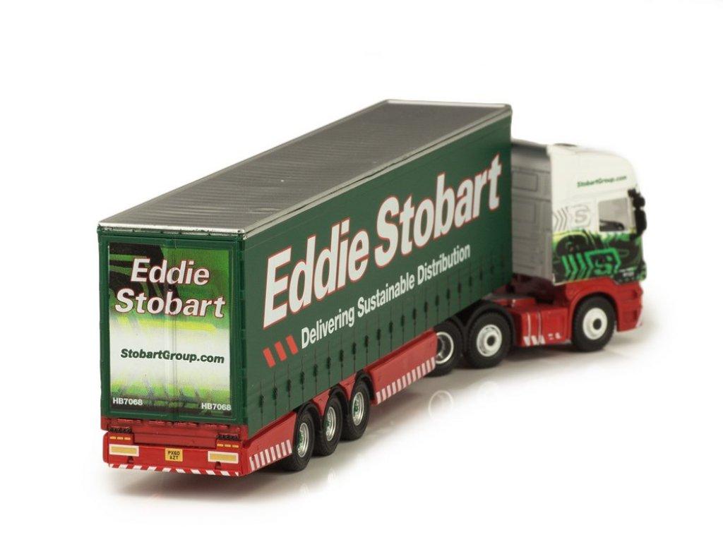 1:76 Atlas Scania Topline седельный тягач с полуприцепом Stobbart
