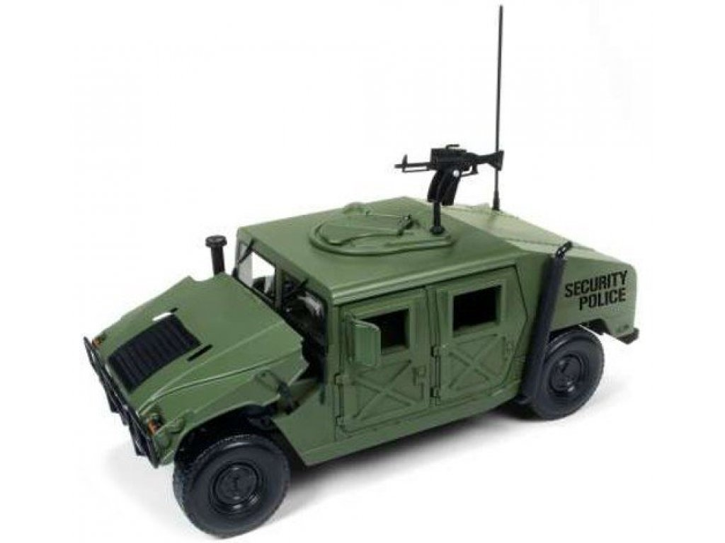 1:18 Auto World HUMMER H1 HUMVEE R-2 бронированный, хаки