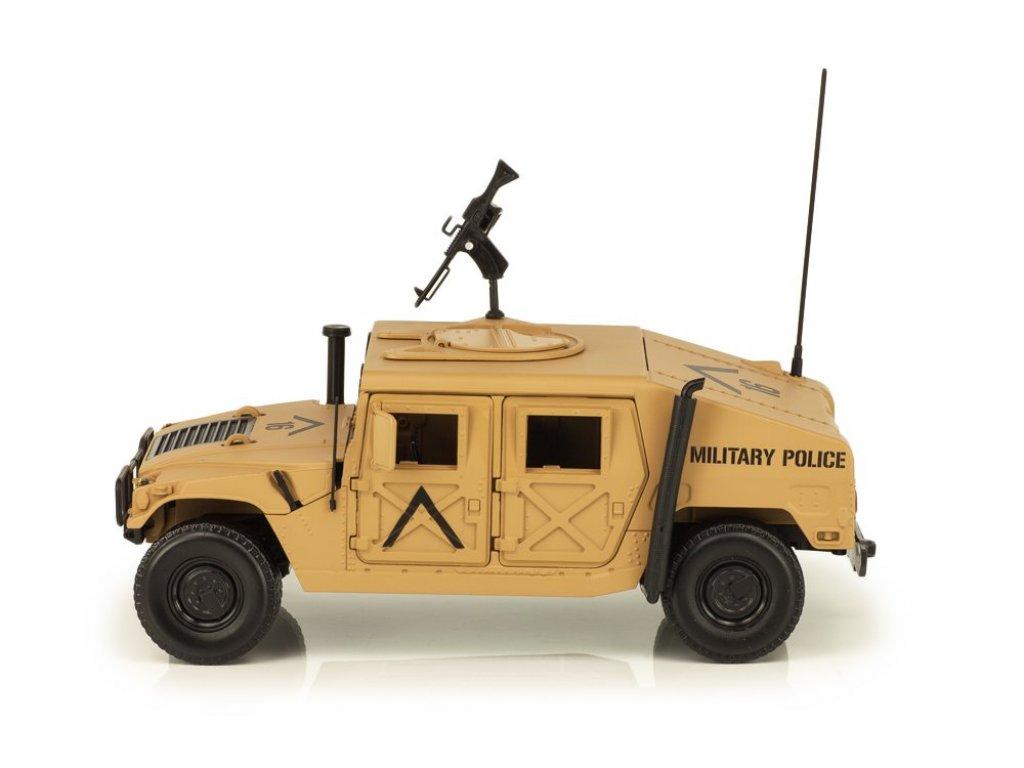 1:18 Auto World HUMMER H1 HUMVEE R-2 бронированный, песочный