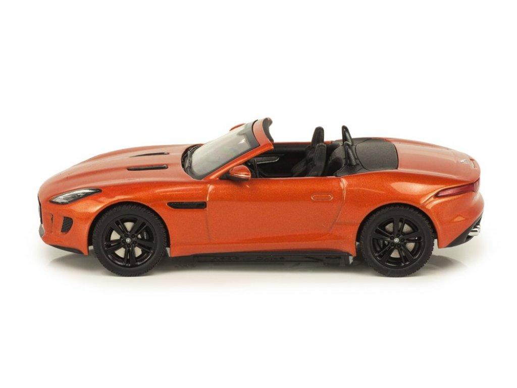 1:43 PremiumX Jaguar F-type V8 S Convertible оранжевый