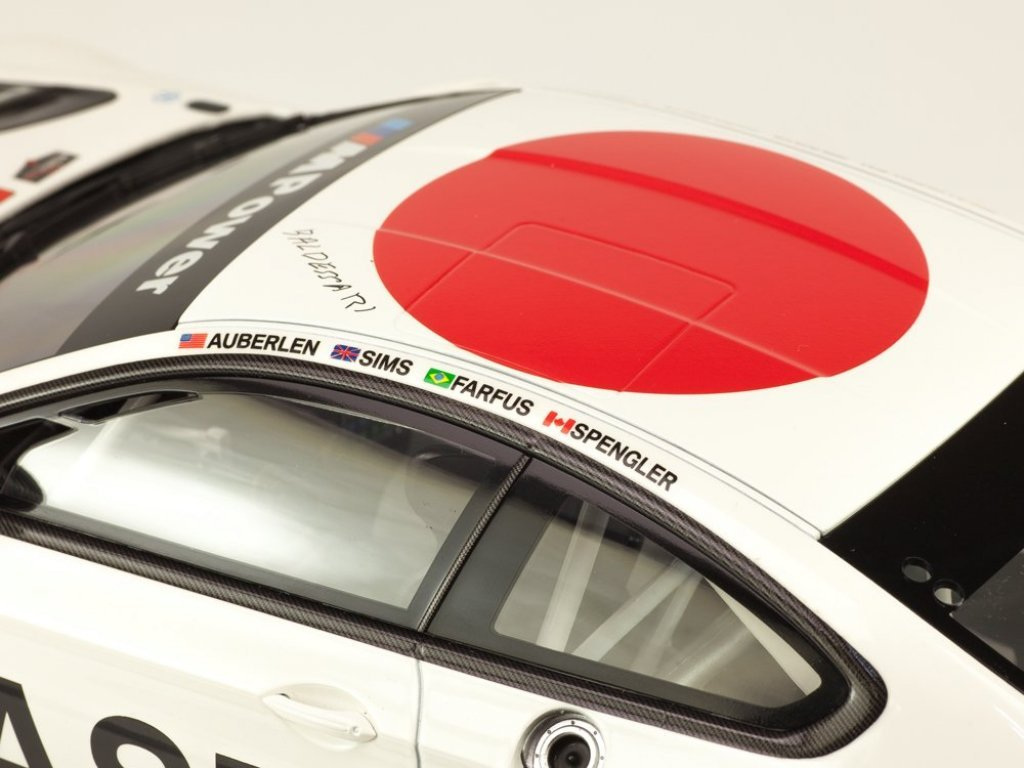 1:18 Kyosho BMW M6 GTLM F13 #19 Art Car John Baldessari (модель в боксе) 24h Daytona 2017